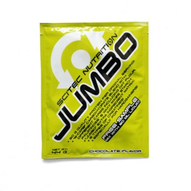 SCITEC NUTRITION JUMBO Gainer Massa 44 gr BUSTA MONODOSE in vendita su Nutribay.it
