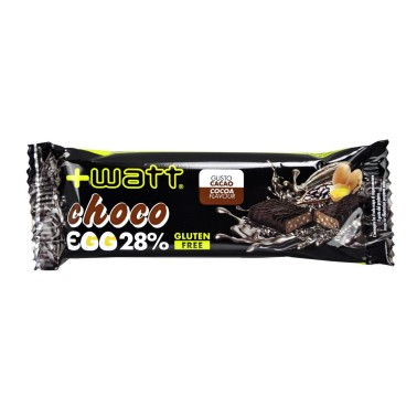+WATT Choco Egg 28% Barretta Proteica da 40 gr con Proteine dell Uovo in vendita su Nutribay.it