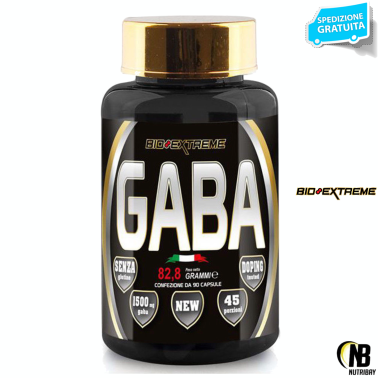 BIO-EXTREME SPORT NUTRITION Gaba - 90 cps TONICI in vendita su Nutribay.it