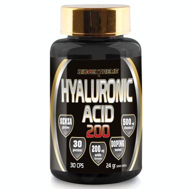 BIO-EXTREME SPORT NUTRITION Hyaluronic Acid 200 - 30 cps - Home in vendita su Nutribay.it