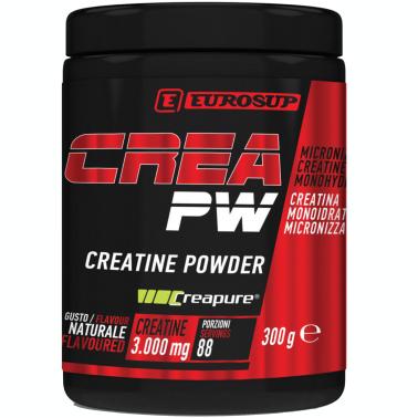 EUROSUP Creatine Powder 300 gr. creatina qualita' Creapure - CREATINA in vendita su Nutribay.it