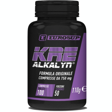 Eurosup Kre-Alkalyn 100 cps. Integratore di Creatina Alcanina BREVETTATA - CREATINA in vendita su Nutribay.it
