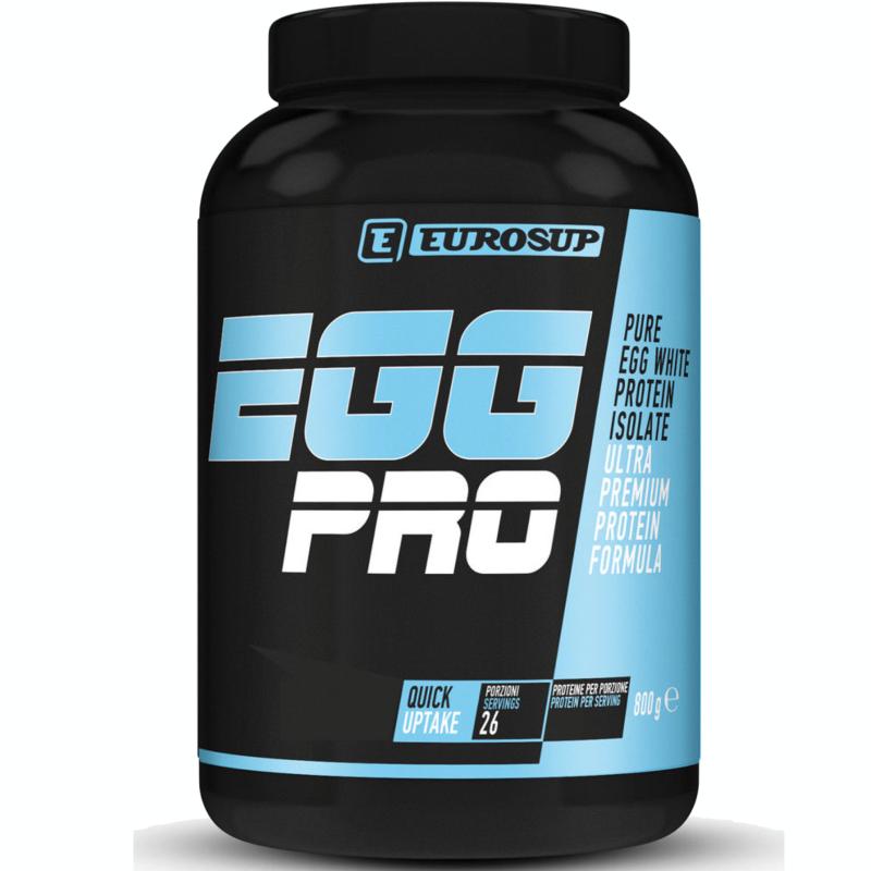 Eurosup Egg Pro 800g Proteine del bianco d'uovo Albumine Albume + Vitamina B6 in vendita su Nutribay.it