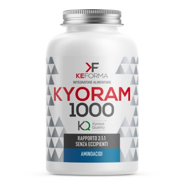 KEFORMA Kyoram 1000 100 capsule da 1g in vendita su Nutribay.it