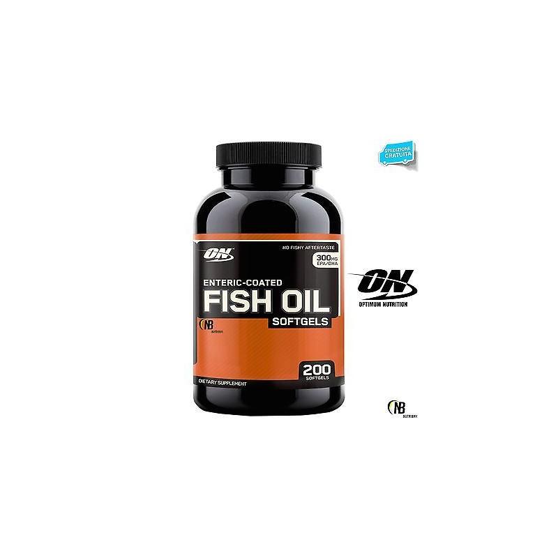 ON Optimum Nutrition Fish Oil 100 perle integratore di Omega 3 anti Colesterolo in vendita su Nutribay.it