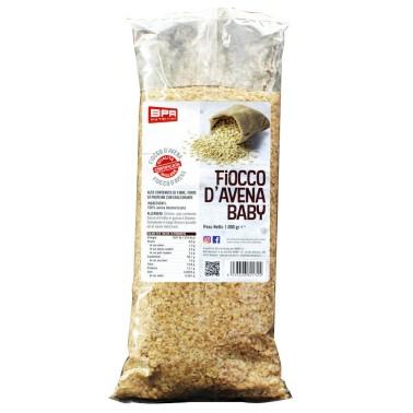 BPR NUTRITION Fiocco d'Avena Baby 1Kg ALIMENTI PROTEICI in vendita su Nutribay.it