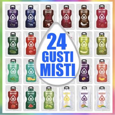 Bolero Drink 24 gusti Misti Assortiti Preparato istantaneo per Bevande Zero Carbo in vendita su Nutribay.it