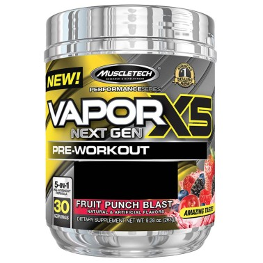 MUSCLETECH VAPOR X5 NEXT GEN 230 gr in vendita su Nutribay.it
