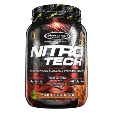 MUSCLETECH Nitro Tech 100% Performance Series 907 gr in vendita su Nutribay.it
