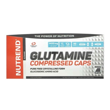 NUTREND Glutamine Compressed Caps 120 capsule in vendita su Nutribay.it