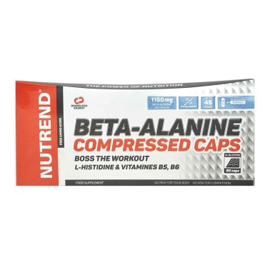 NUTREND Beta-Alanine Compressed Caps 90 capsule in vendita su Nutribay.it