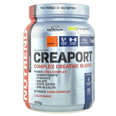 NUTREND Creaport 600 gr 6 TIPI DI CREATINA + TAURINA GLUTAMMINA in vendita su Nutribay.it
