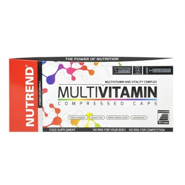 NUTREND Multivitamin Compressed Caps 60 capsule in vendita su Nutribay.it