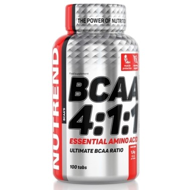NUTREND COMPRESS BCAA 4:1:1 100 compresse Aminoacidi Ramificati in vendita su Nutribay.it
