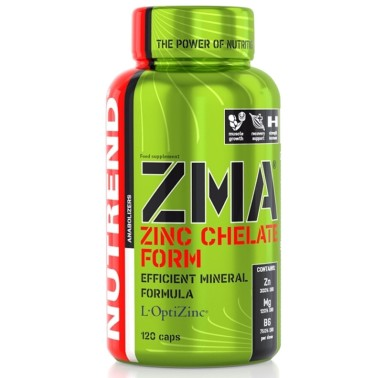 NUTREND ZMA 120 CAPS - ZINCO MAGNESIO VITAMINA B6 in vendita su Nutribay.it