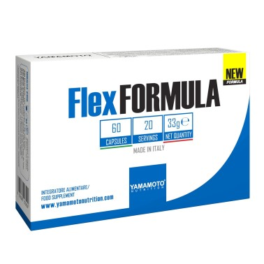 YAMAMOTO NUTRITION Flex FORMULA New Formula 60 capsule in vendita su Nutribay.it