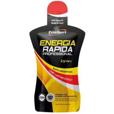 ETHIC SPORT Energia Rapida Professional gel da 50 ml CARBOIDRATI - ENERGETICI in vendita su Nutribay.it