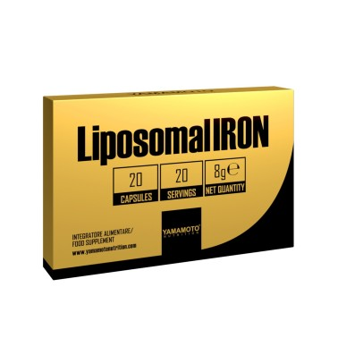 YAMAMOTO NUTRITION Liposomal IRON 20 capsule in vendita su Nutribay.it