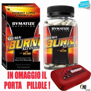 Dymatize Dyma Burn Xtreme 120 cpr. Termogenico Bruciagrassi con Carnitina in vendita su Nutribay.it