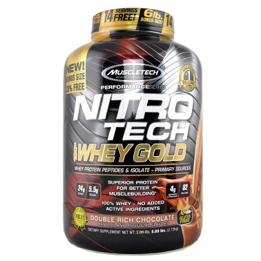 MUSCLETECH Nitro Tech 100% Whey Gold Performance Series 2720 grammi in vendita su Nutribay.it
