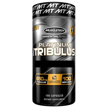 MUSCLETECH Platinum 100% Tribulus Essential Series 100 caps in vendita su Nutribay.it