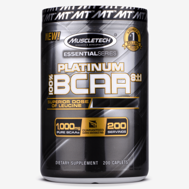 MUSCLETECH Platinum BCAA 8:1:1 Essential Series 200 compresse in vendita su Nutribay.it