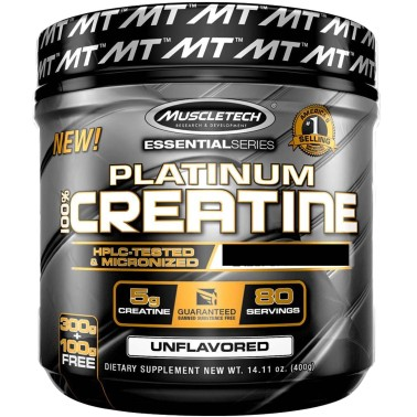 MUSCLETECH Platinum 100% Creatine Essential Series 402 grammi in vendita su Nutribay.it
