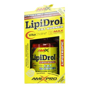 AMIX LipiDrol 120 capsule in vendita su Nutribay.it