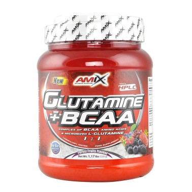 AMIX Glutamine + BCAA Polvere 500 grammi in vendita su Nutribay.it