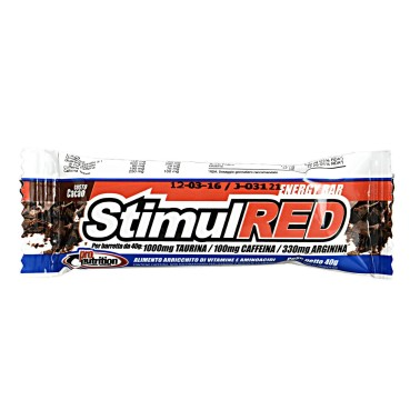 PRONUTRITION Stimul Red 1 barretta da 40 grammi in vendita su Nutribay.it