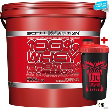 SCITEC NUTRITION 100% Whey Protein Professional 5 Kg Proteine Siero del Latte in vendita su Nutribay.it