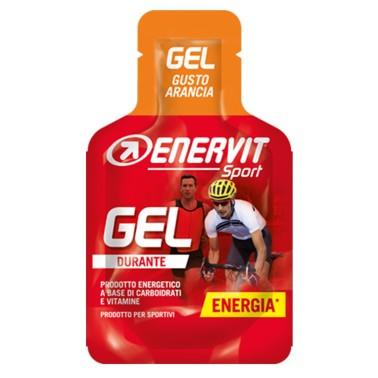 ENERVIT Gel Arancia DURANTE 25 ml CARBOIDRATI - ENERGETICI in vendita su Nutribay.it