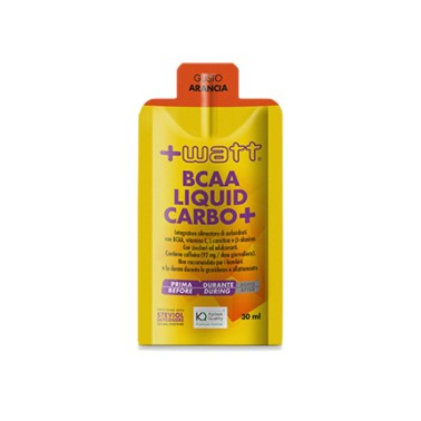 +WATT BCAA Liquid Carbo+ GEL 30 ml in vendita su Nutribay.it