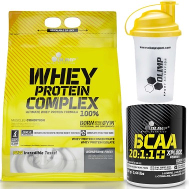 Olimp Whey Protein Complex 2270 2,27 kg Proteine Siero del Latte + Bcaa 20:1:1 in vendita su Nutribay.it