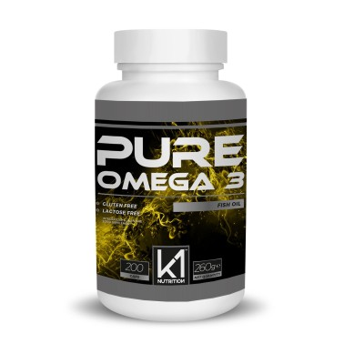 K1 Nutrition PURE OMEGA 3 Fish Oil 200 perle in vendita su Nutribay.it