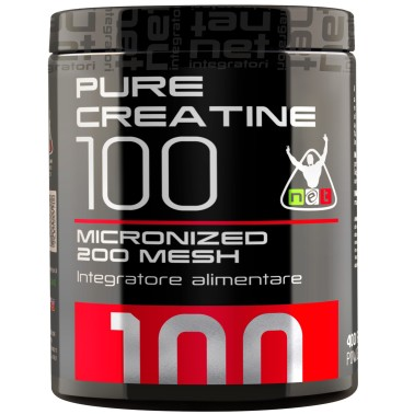 Net Pure Creatine 100 200 gr. Purissima Creatina Ultra Micronizzata 200 Mesh in vendita su Nutribay.it