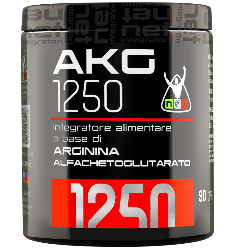 Net Akg 1250 90 Compresse Arginina Alfachetoglutarato in vendita su Nutribay.it