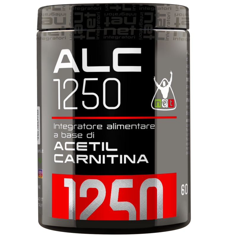 Net Integratori ALC 1250 - 60 cpr da 1,25 gr Integratore di Acetil-Carnitina in vendita su Nutribay.it