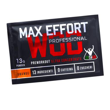 NET INTEGRATORI Crossfit MAX EFFORT PROFESSIONAL BUSTA MONODOSE 13 GR in vendita su Nutribay.it