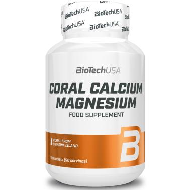 Biotech Usa Coral 100 cpr Magnesio e Calcio da corallo dell Isola di Okinawa in vendita su Nutribay.it