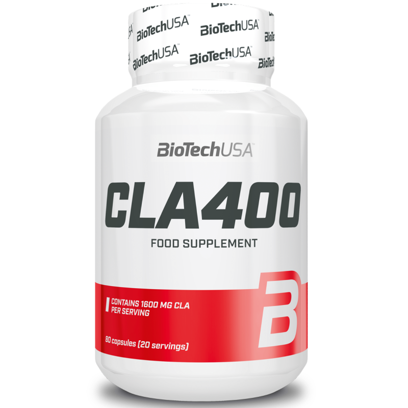 Biotech Usa Cla 400 80 perle Integratore alimentare di Acido Linoleico Coniugato in vendita su Nutribay.it