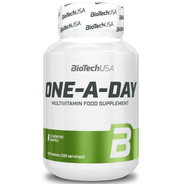 Biotech One a Day 100 cpr. Multivitaminico Multiminerale completo Alto Dosaggio in vendita su Nutribay.it