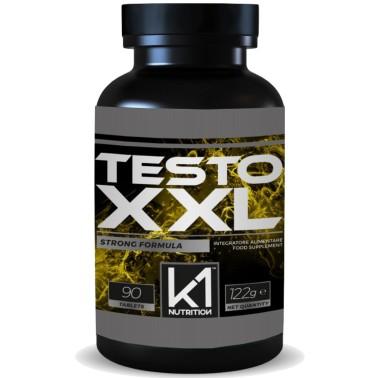 K1 Nutrition Testo XXL 90 cpr Zmb6 con Tribulus Terrestris e Fieno Greco in vendita su Nutribay.it