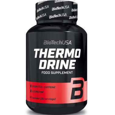 Biotech Thermo Drine 60 cps Termogenico con Carnitina Yerba Mate e Garcinia in vendita su Nutribay.it