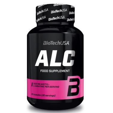 Biotech Usa Alc 60 caps L-Carnitine Acetyl Carnitina con Zinco senza Caffeina in vendita su Nutribay.it