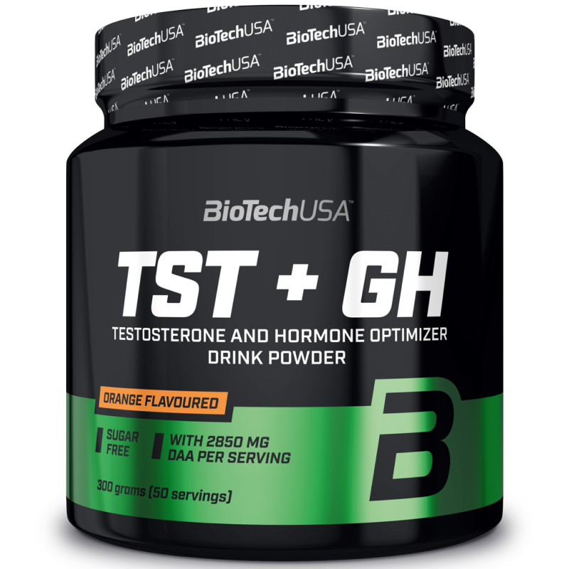 Biotech Usa TST+GH 300 gr DAA AKG glutammina carnitina ornitina zinco magnesio in vendita su Nutribay.it