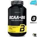 Biotech Bcaa + b6 200 cpr. Aminoacidi Ramificati 2:1:1 da 1 gr. + Vitamina B6 in vendita su Nutribay.it