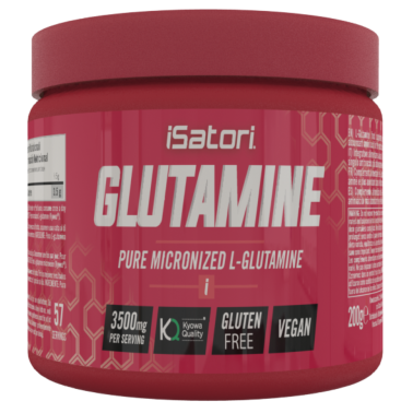 ISATORI Glutamine 200 gr Glutammina Micronizzata Kyowa in vendita su Nutribay.it