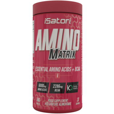 Isatori Amino Matrix 180 cpr Aminoacidi Essenziali Kyowa con Vitamina b6 in vendita su Nutribay.it