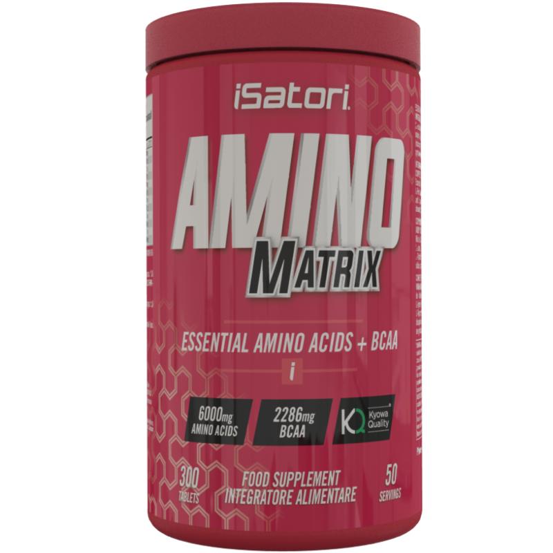 Isatori Amino Matrix 300 cpr Aminoacidi Essenziali Kyowa con Vitamina b6 in vendita su Nutribay.it